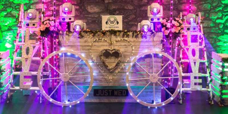 Shabby Chic DJ Booth
