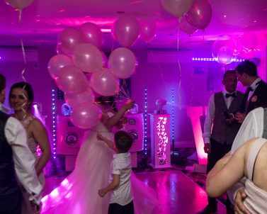 No better way to celebrate a wedding celebration than a packed dance floor supplied by Wedding DJ Cornwall.