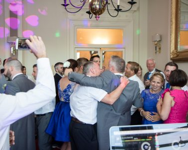 Loads of photographs taken of the party celebrations with Party Dj in Cornwall.