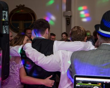 Cheesy tracks enjoyed by the guests at Russ & Pia Wedding supplied by Wedding Dj Cornwall.