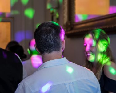 The spectacular light show with the best party tunes supplied by Wedding Dj in Cornwall.