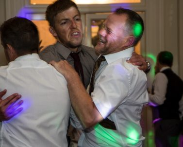 Capturing the dance floor action with a big night of celebration with Wedding Dj in Cornwall.