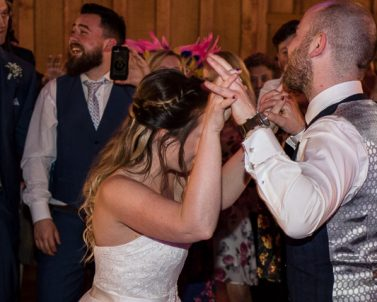 Party on Down at Mathew & Natalie Dartington Hall 6th April 2018 with Party DJ Cornwall