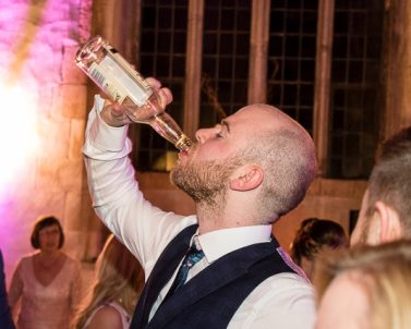 Thirsty Work on the dance floor with mobile dj in Cornwall.