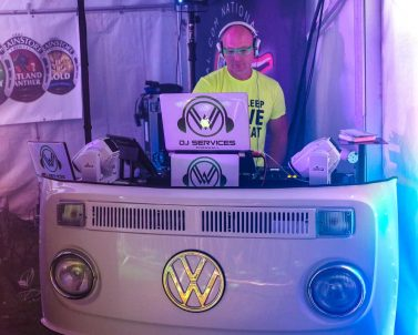 Wedding DJ supplied the music for National Watersports Festival 2018.