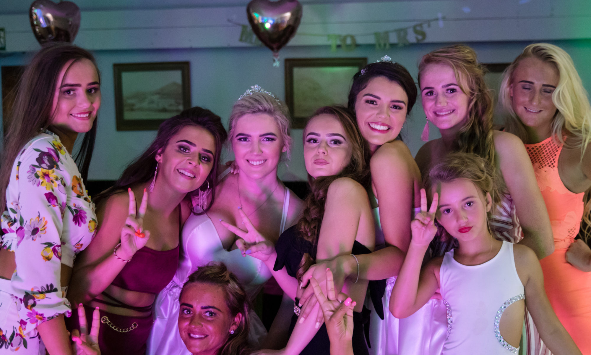 Hen Party with Party DJ in Cornwall having a great party