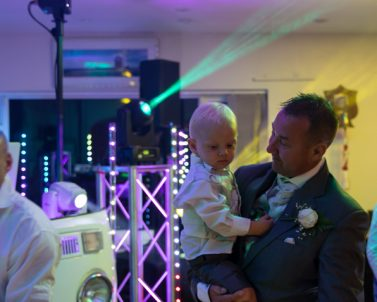 Weddings bring all ages together to celebrate wedding dj Cornwall.