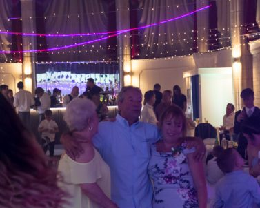 Laser action supplied by Mobile DJ Cornwall at Alverton Manor
