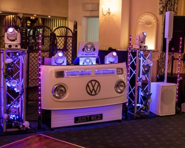We are very proud of our wedding set up mobile DJ Cornwall