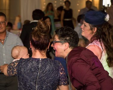 Family time so important at Christenings and ready to get the celebrations started with Mobile Dj Cornwall.