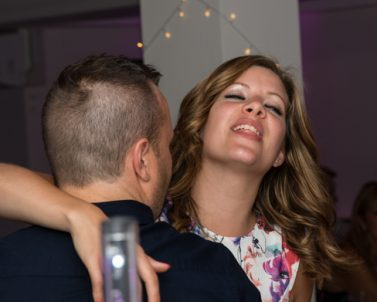 The lovely couple enjoying the moment dancing the night away with Mobile DJ Cornwall.