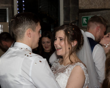 Jonathon & Katie enjoying their first dance with Wedding DJ Cornwall.