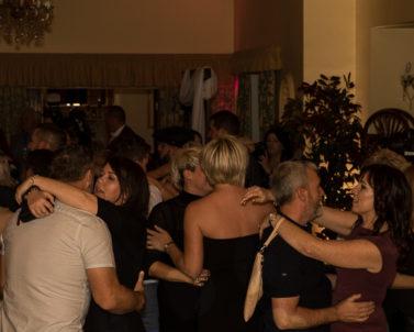 Everyone enjoying the slow dance action with Wedding DJ Cornwall.