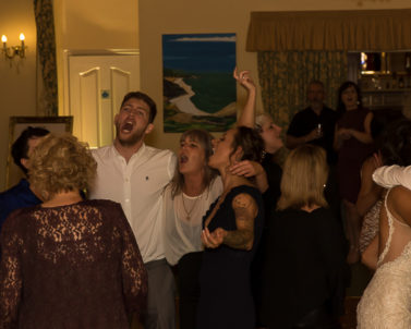 Sing along to their favourite dance tracks provided by Wedding DJ Cornwall.