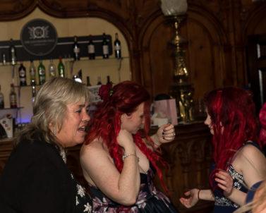 Sisters having fun on the dance floor with wedding dj Cornwall