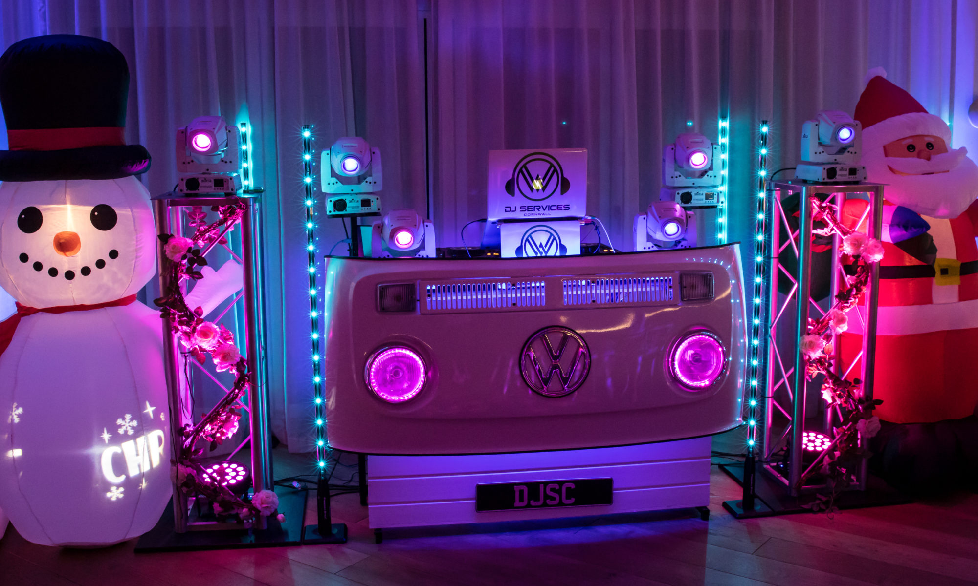 Party DJ in Cornwall Christmas Parties