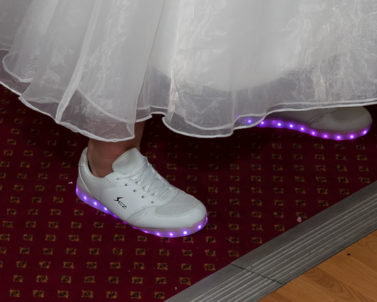These shoes are made for dancing