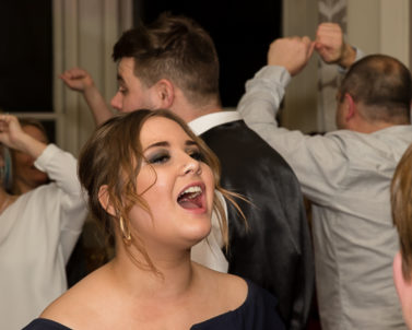 Party time for Wedding DJ Cornwall