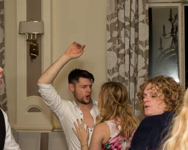Wedding DJ Cornwall Footloose on the dancefloor