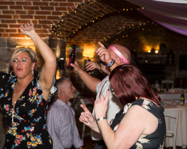 Fantastic Tunes played by Wedding DJ Cornwall at recent wedding of Carl & Abby Polhawn Fort.