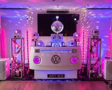 DJ Services Cornwall delivering the WOW factor in spades with Party DJ Cornwall.