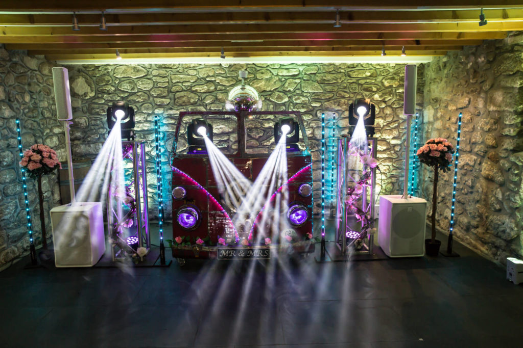 Disco DJ booth cornwall