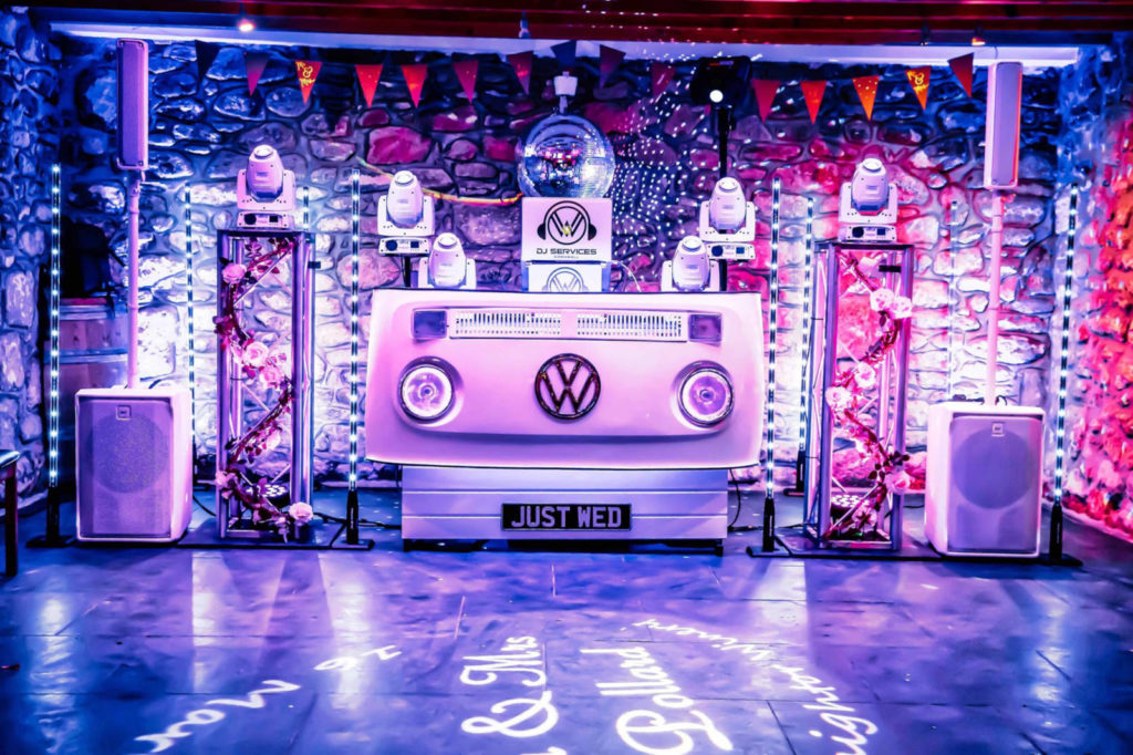 VW DJ Booth Knightor Winery