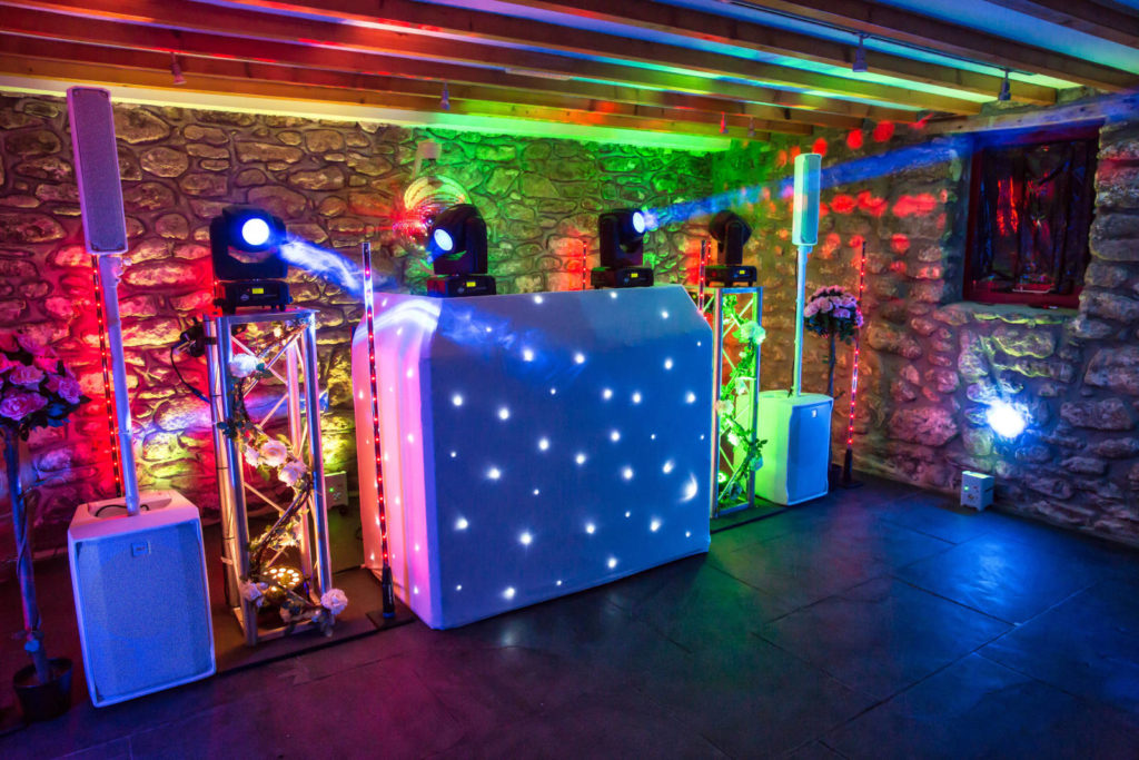 DJ Cornwall's - Traditional DJ Booth Option